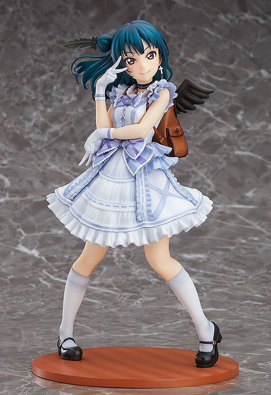 Love Live!Sunshine!! Statue 1/7 Yoshiko Tsushima Blu-ray Jacket Ver. 22 cm ( Bandai Namco )