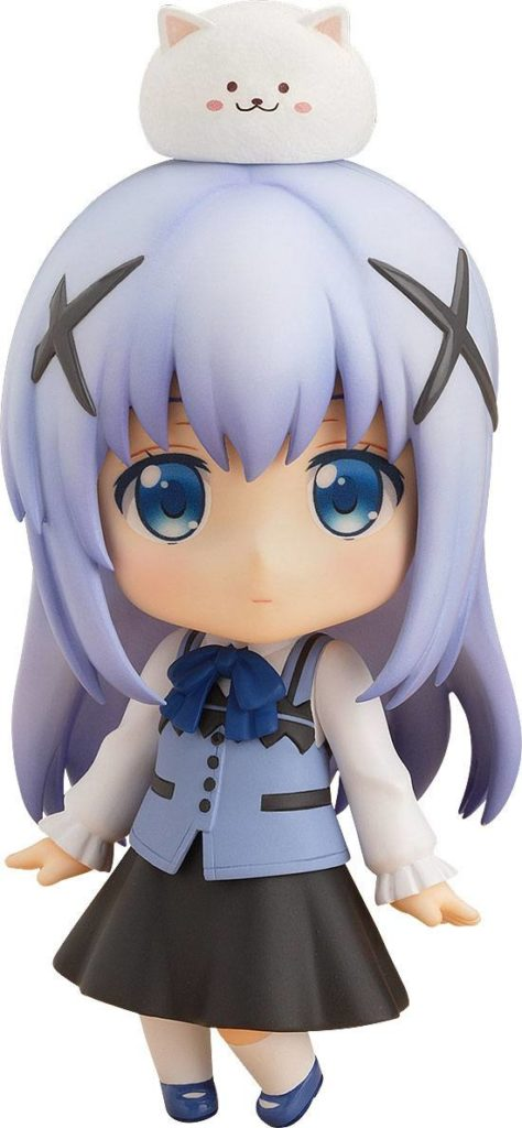 Is the Order a Rabbit Nendoroid Action Figure Chino 10 Cm