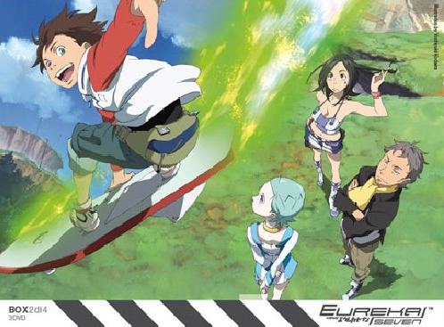 Eureka Seven Box #02 (Eps 14-25) (3 Dvd)-dvd-bluray-anime-manga