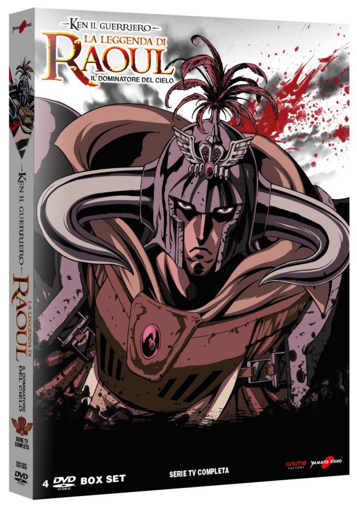 Ken Il Guerriero - La Leggenda Di Raoul Il Dominatore Del Cielo (4 Dvd)-dvd-bluray-anime-manga