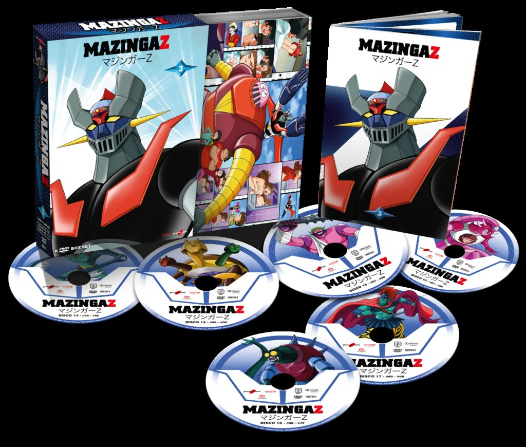 Mazinga Z #03 (6 Dvd)-dvd-bluray-anime-manga