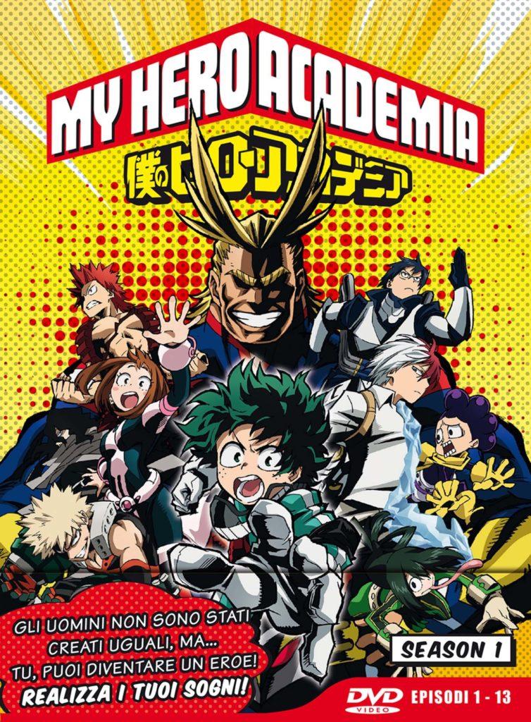 My Hero Academia - Stagione 01 (Eps 01-13) (Ltd Edition) (3 Dvd)-dvd-bluray-anime-manga