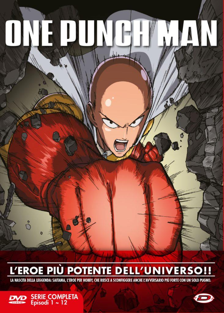 One Punch Man - The Complete Series Box (Eps 01-12) (3 Dvd)-dvd-bluray-anime-manga