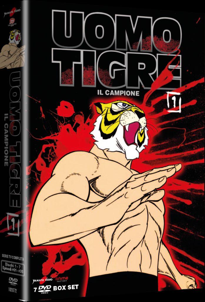 Uomo Tigre (L') - Il Campione #01 (7 Dvd)-dvd-bluray-anime-manga
