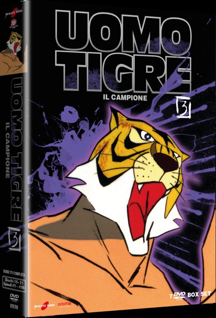 Uomo Tigre (L') - Il Campione #03 (7 Dvd)-dvd-bluray-anime-manga