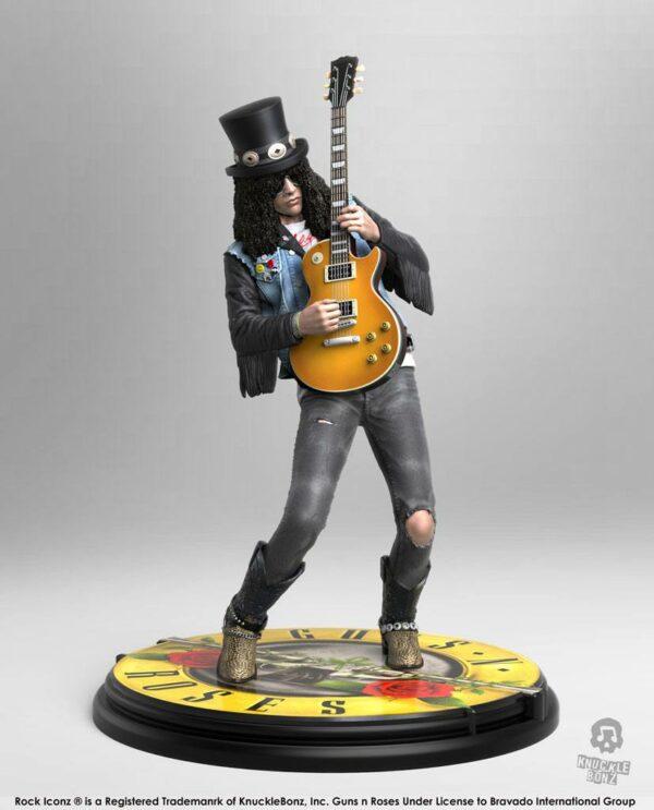Guns n' Roses Rock Iconz Statue Slash 20 cm ( Knucklebonz )