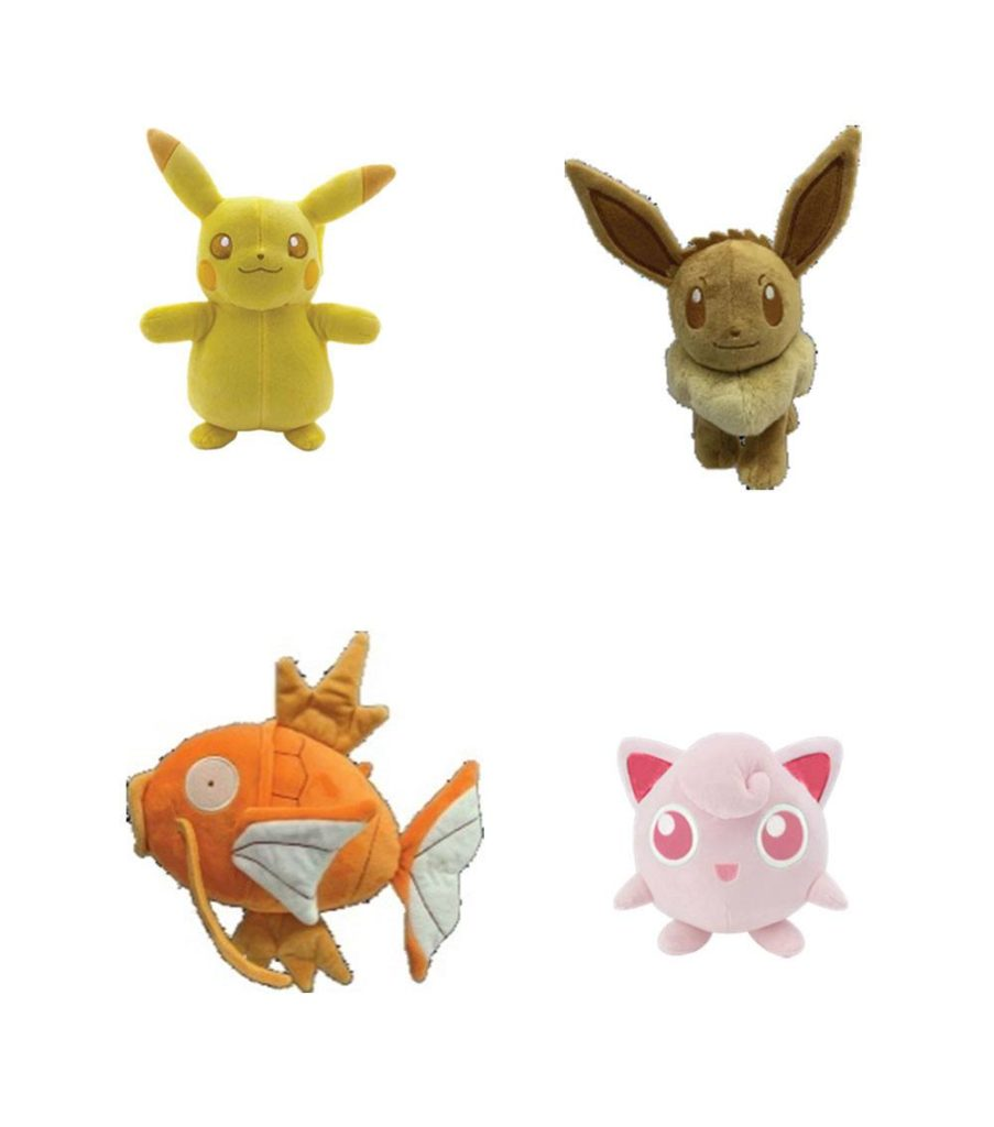 Pokémon Monochrome Plush Figures 20 cm Welle 2 Anzeige (6)