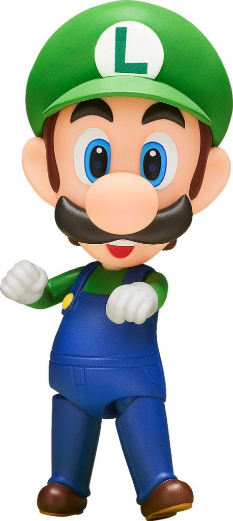 super Mario Bros. Figurine articulée Nendoroid Luigi 10 cm