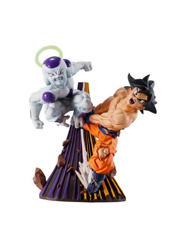 Dragonball Super Dracap Re: Naissance Super Revival Goku et congélateur 8 cm ( Megahouse )