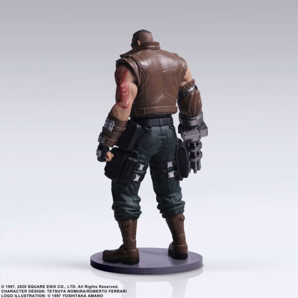 Final Fantasy VII Remake Trading Arts Figure Barret 10 cm ( Square – Enix )