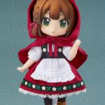 Original-Character-Nendoroid-Doll-Action-Figure-Little-Red-Riding-Hood-Rose-14-cm-Good-Smile-Company-1