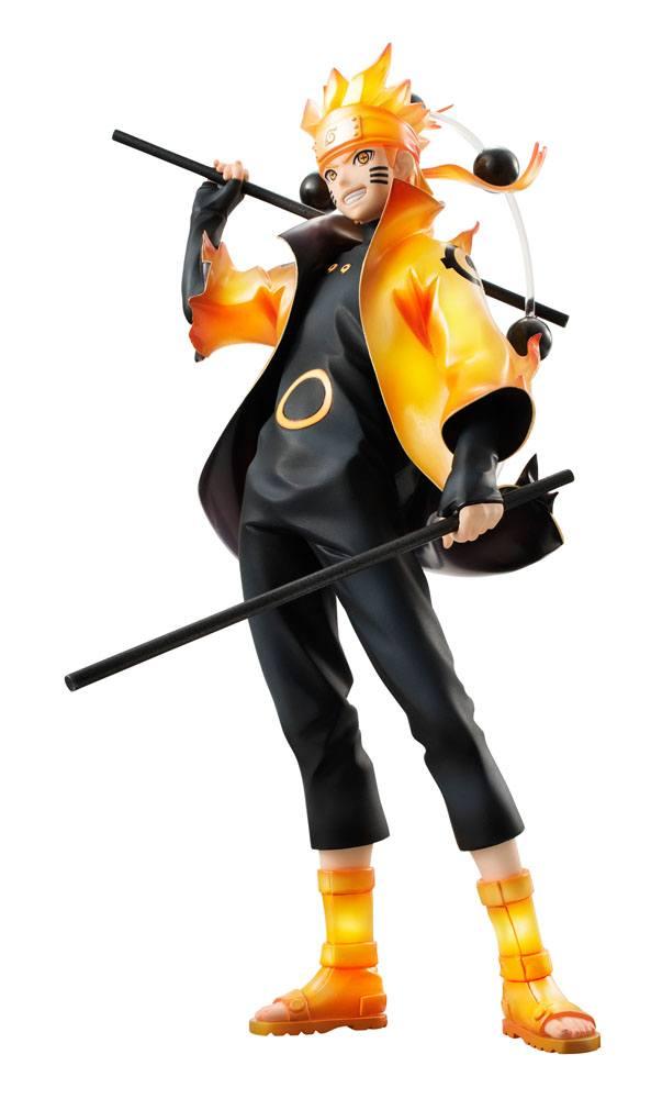 Naruto Shippuden G.E.M. Series PVC Statue Uzumaki Naruto Rikudo Sennin Mode 24 cm   ( Megahouse )