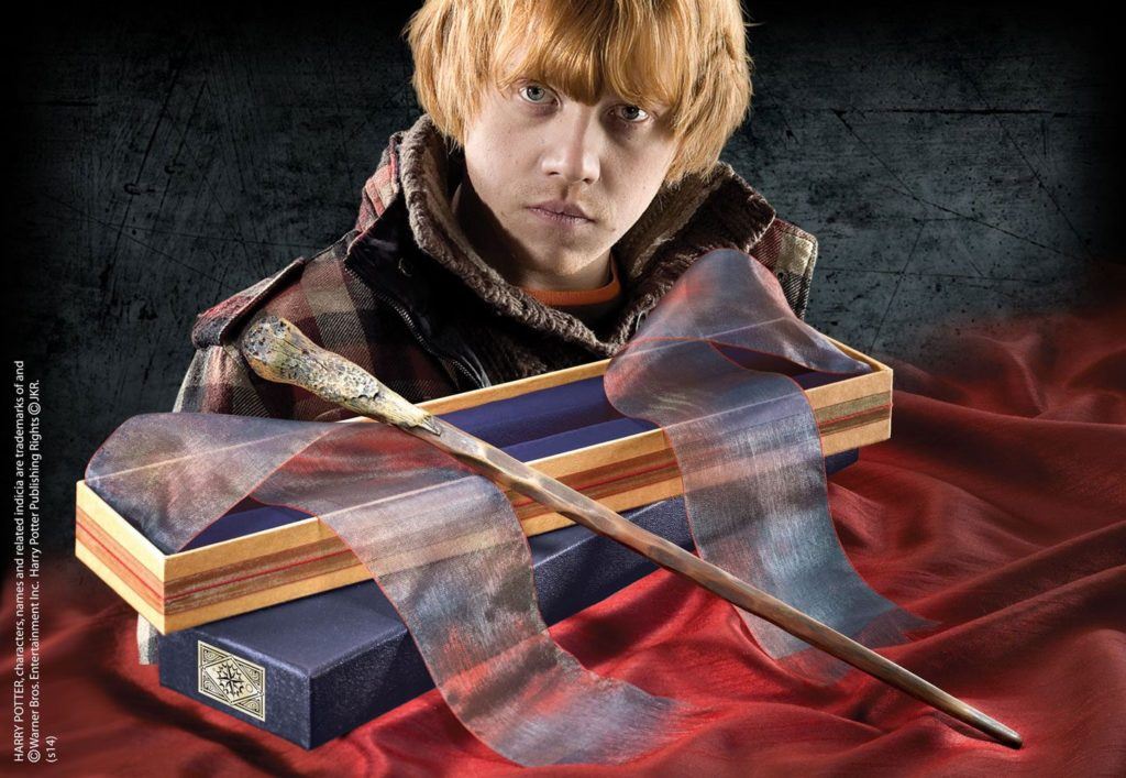 Harry Potter - Ron Weasley´s Wand-Noble Collection-Harry Potter