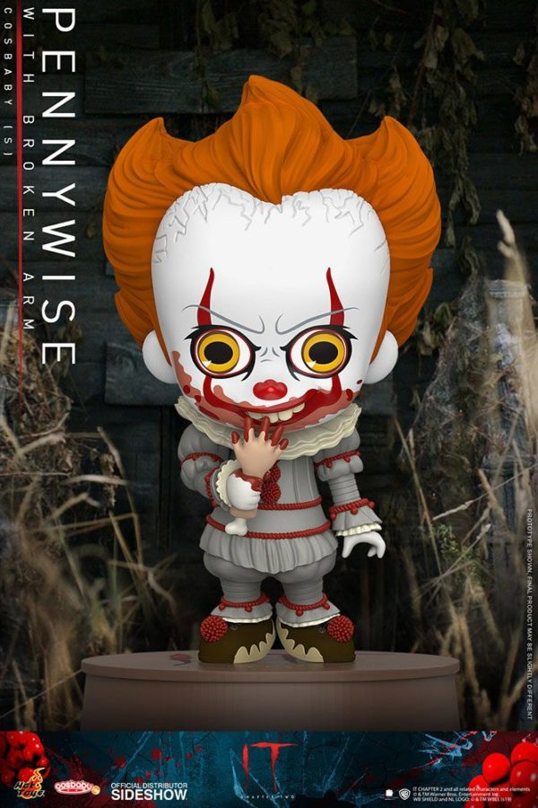 It Chapter Two Cosbaby Mini Figure Pennywise with Broken Arm 11 cm ( Hot Toys )
