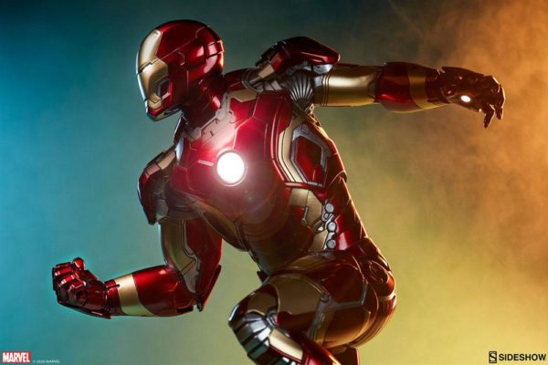 Avengers Age of Ultron Maquette 1/4 Iron Man Mark XLIII 51 cm ( Sideshow Collectibles )