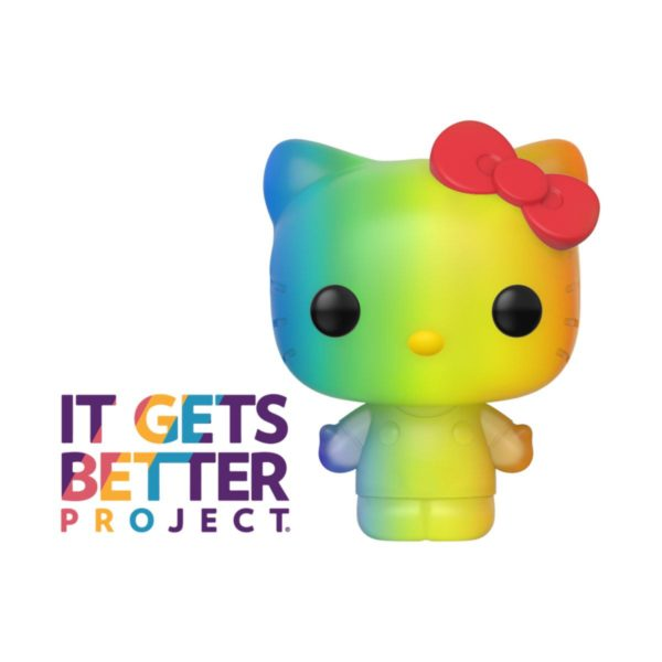 Pride 2020 Hello Kitty POP! Sanrio Vinyl Figure Hello Kitty (RNBW) 9 cm ( Funko )