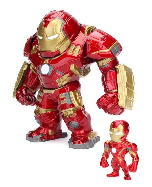 Avengers Age of Ultron Metals Die Cast Figures Hulkbuster & Iron Man 15 cm ( Jada Toys )