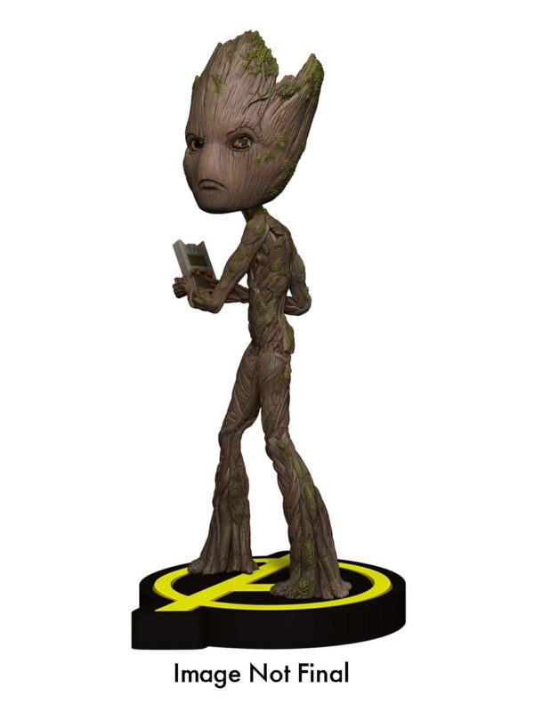 Avengers Infinity War Head Knocker Bobble-Head Groot 20 cm ( NECA )