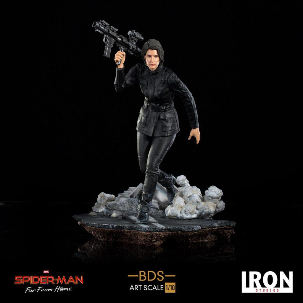Spider-Man: Far From Home BDS Art Scale Deluxe Statue 1/10 Maria Hill 20 cm-Iron Studios-Marvel