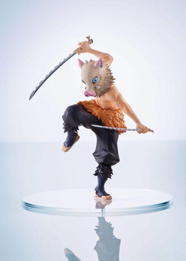 Demon Slayer: Kimetsu no Yaiba ConoFig Statue Inosuke Hashibira 13 cm-Aniplex-Demon Slayer: Kimetsu no Yaiba