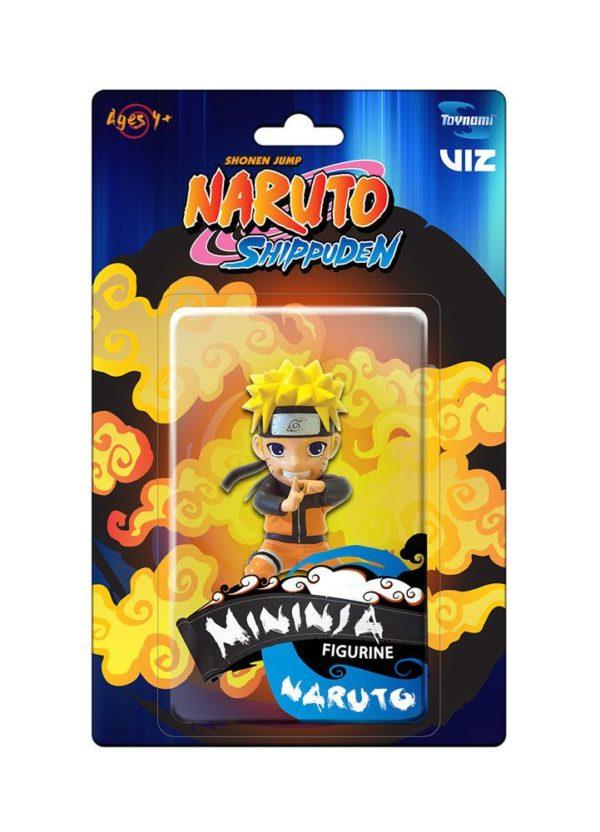 Naruto Shippuden Mininja Mini Figure Naruto 8 cm ( Toynami )