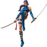 MAFEX-X-Men-Psylocke-Comic-Ver-6