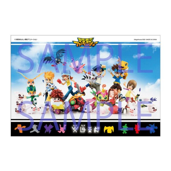 Digimon Adventure Digicolle! Series Trading Figure 8-Pack Mix Special Edition 5 cm ( Megahouse )