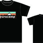 Yurucamp-Mount-Fuji-Logo-T-Shirt-M-Size-Black-1