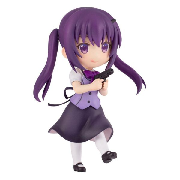Is the Order a Rabbit Bloom PVC Statue Rize 6 cm-Plum-Is the Order a Rabbit